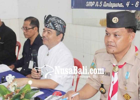 Nusabali.com - kemah-bazar-dimeriahkan-32-barung-pramuka