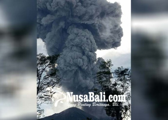Nusabali.com - aktivitas-gunung-agung-masih-tinggi