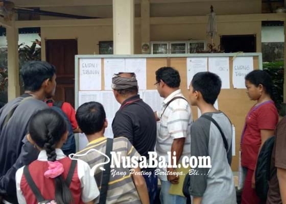 Nusabali.com - nun-tinggi-tapi-tak-diterima-di-smpn-1-tabanan