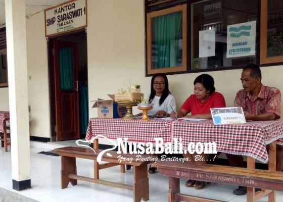 Nusabali.com - smp-1-saraswati-tabanan-krisis-siswa
