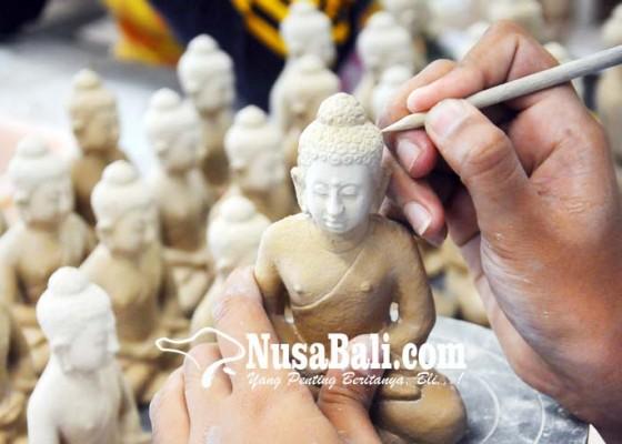 Nusabali.com - kerajinan-miniatur-patung-buddha