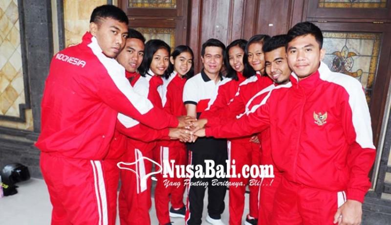 www.nusabali.com-tujuh-atlet-kabaddi-pamit-bupati-klungkung