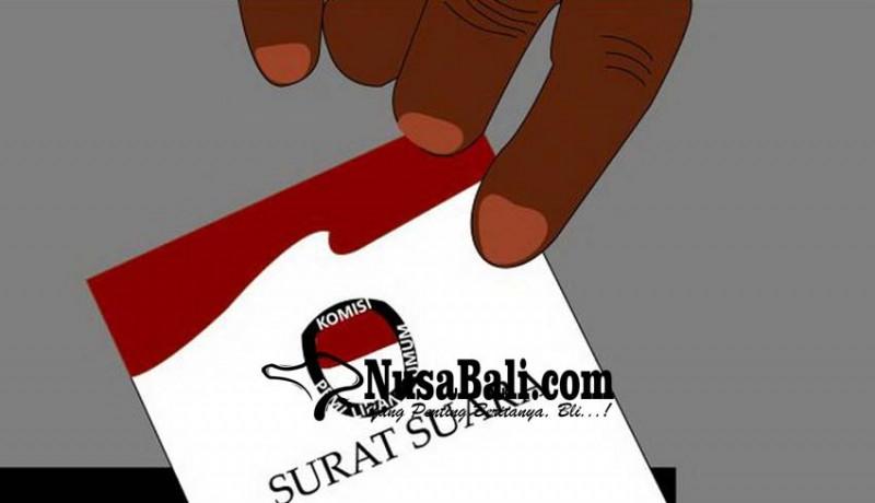 www.nusabali.com-sekeluarga-kantongi-4-lembar-surat-suara