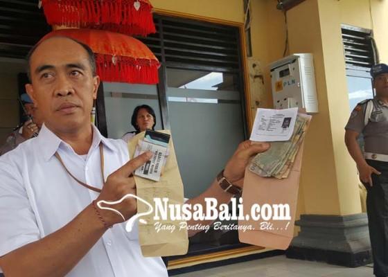 Nusabali.com - tim-saber-pungli-amankan-8-tukang-parkir-bodong