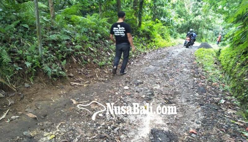 www.nusabali.com-jalan-kabupaten-di-tanggahan-peken-rusak-berat