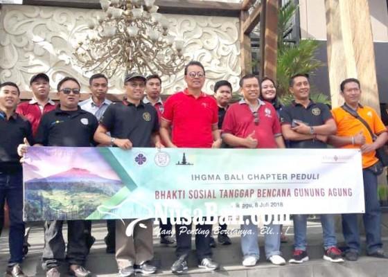 Nusabali.com - komponen-pariwisata-bali-peduli-pengungsi-gunung-agung