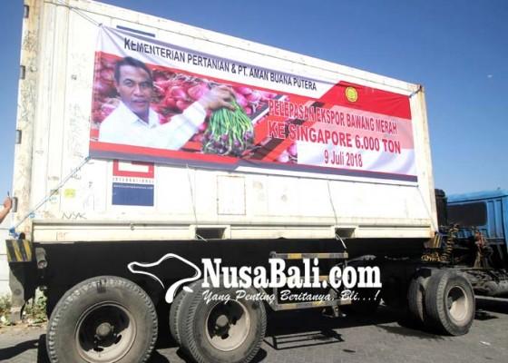 Nusabali.com - ekspor-bawang-merah-ke-singapura