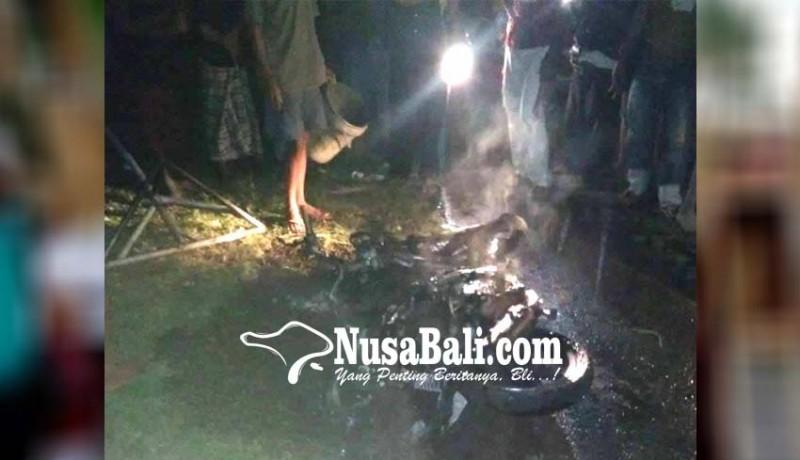 www.nusabali.com-motor-jro-mangku-terbakar