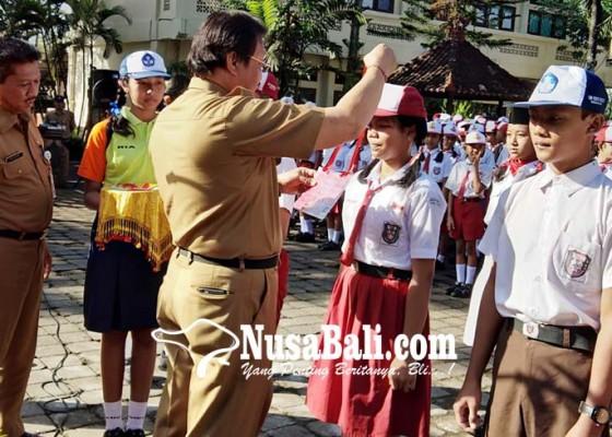 Nusabali.com - disdikpora-badung-larang-perpeloncoan-dalam-pls