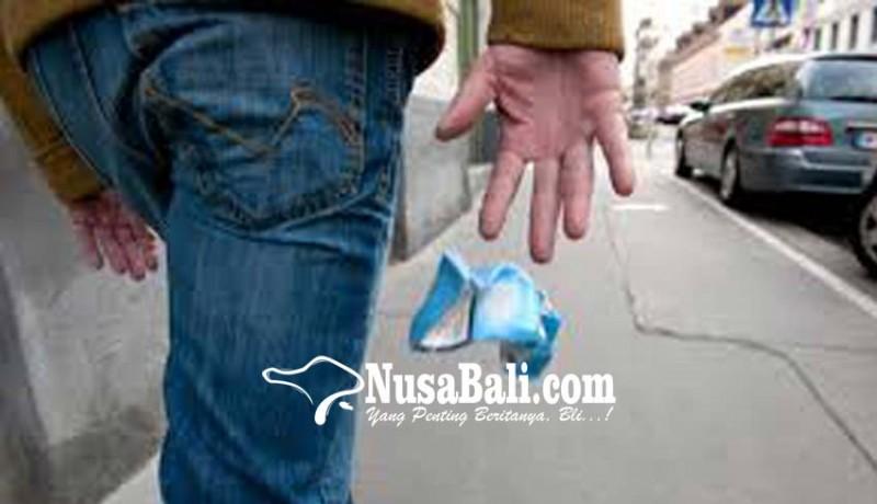 www.nusabali.com-sembarangan-buang-sampah-siswa-guru-wajib-tanam-bunga