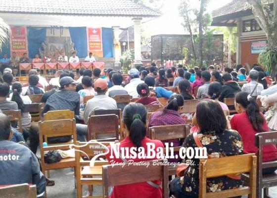 Nusabali.com - smpn-3-negara-kembalikan-dana-punia-siswa-baru