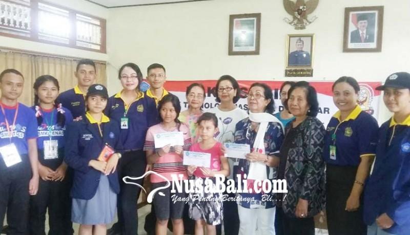 www.nusabali.com-mpls-calon-siswa-baru-smk-teknas-kunjungi-panti-asuhan