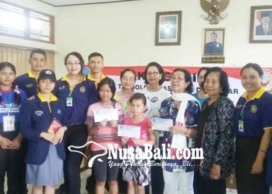 Nusabali.com - mpls-calon-siswa-baru-smk-teknas-kunjungi-panti-asuhan