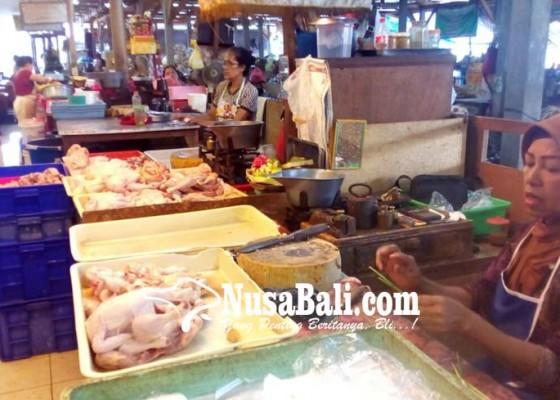 Nusabali.com - melambung-terus-daging-ayam-tembus-rp-42-ribu