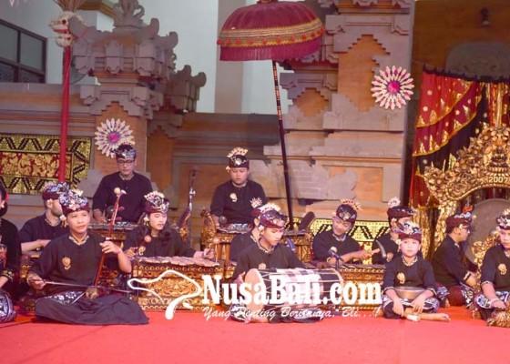 Nusabali.com - tampilkan-gambelan-bertangga-nada-9-di-pkb