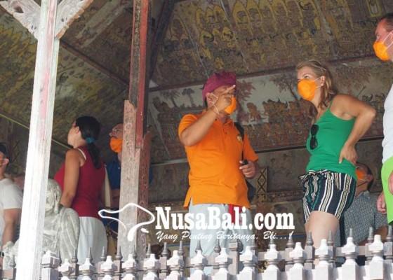 Nusabali.com - abu-menyebar-wisatawan-pun-bermasker