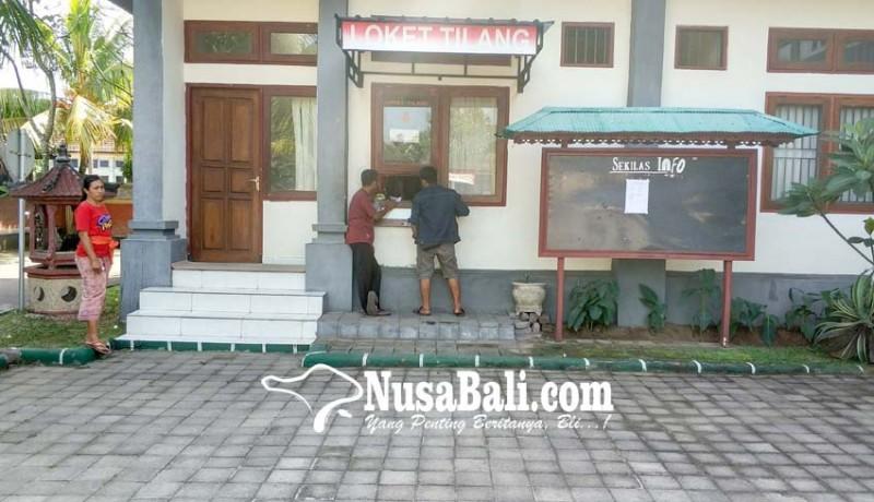 www.nusabali.com-satu-semester-575-berkas-perkara-tilang-digudangkan