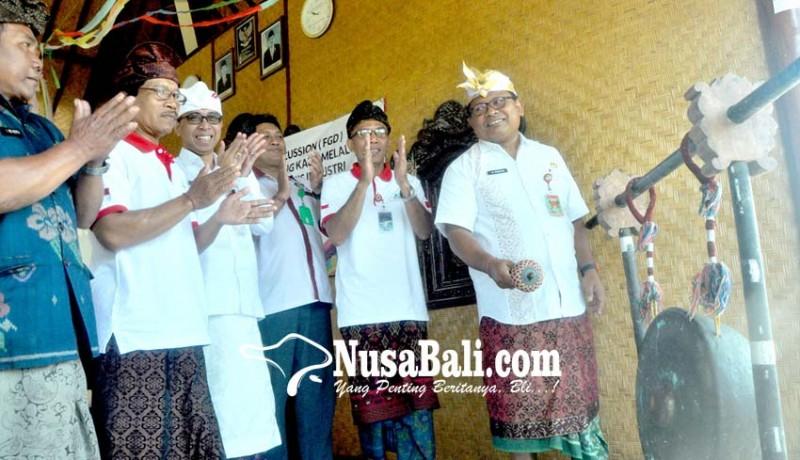 www.nusabali.com-tabanan-launching-dan-gelar-fgd-pengembangan-desa-wisata-lumbung-kauh