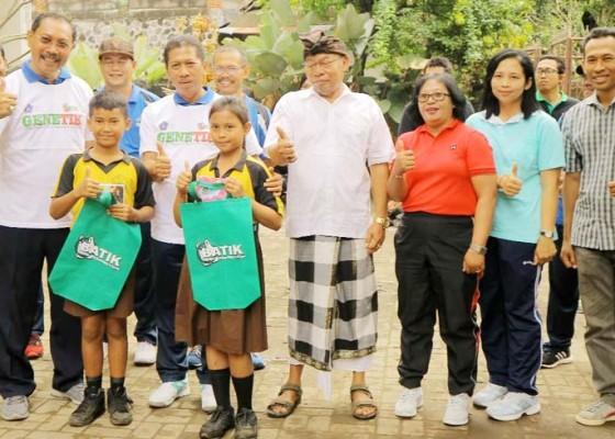 Nusabali.com - dinas-lhk-dan-disdikpora-badung-berkolaborasi-kurangi-sampah-plastik