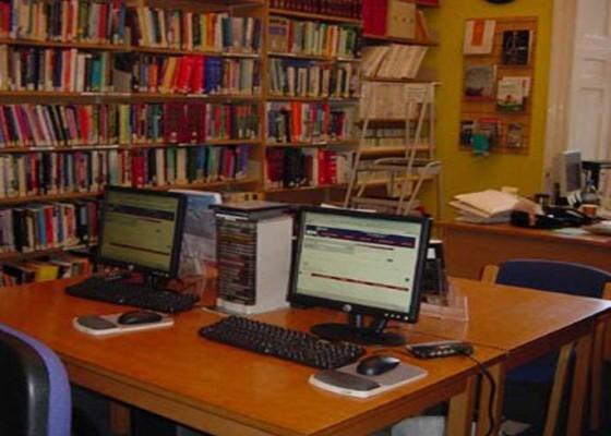 Nusabali.com - menristek-dorong-digitalisasi-perpustakaan-kampus