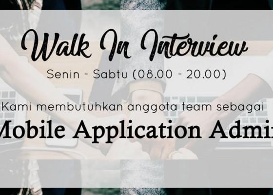 Nusabali.com - lowongan-kerja-bali-posisi-mobile-application-admin