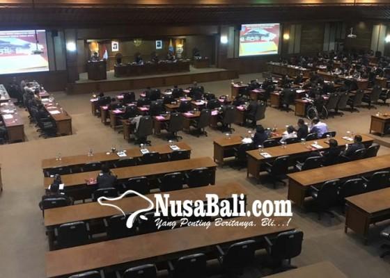 Nusabali.com - fraksi-golkar-boikot-rapat-paripurna-dprd-badung