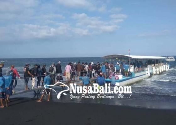 Nusabali.com - hari-ini-pelabuhan-kusamba-nusa-penida-buka-tutup