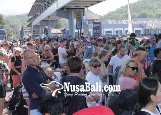Nusabali.com - penyeberangan-sanur-nusa-penida-ditutup