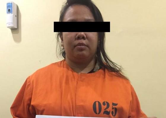 Nusabali.com - tembak-kaca-rumah-warga-wanita-diciduk-polisi