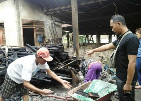 Nusabali.com - terbakar-tempat-usaha-babi-guling-tinggal-puing