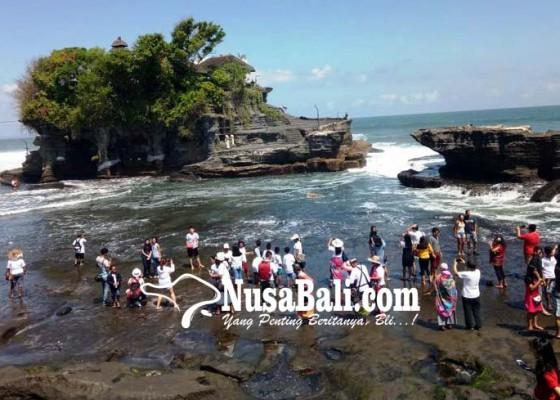 Nusabali.com - pengamanan-objek-wisata-tanah-lot-diperketat