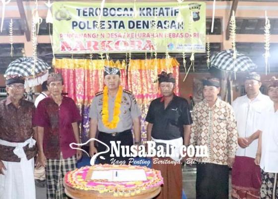 Nusabali.com - penatih-didaulat-jadi-desa-bebas-narkoba