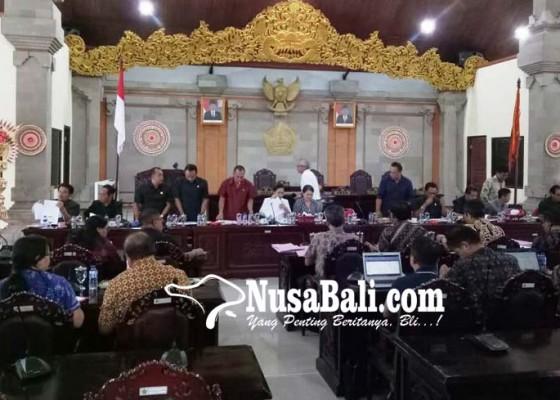 Nusabali.com - rapat-banggar-dprd-ditunda