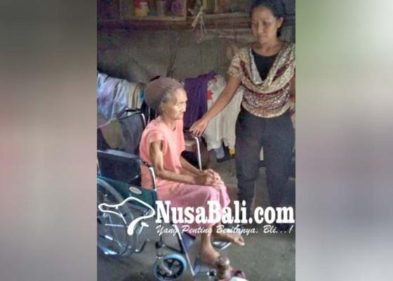 Nusabali.com - dua-wakil-ketua-dewan-bantu-kursi-roda