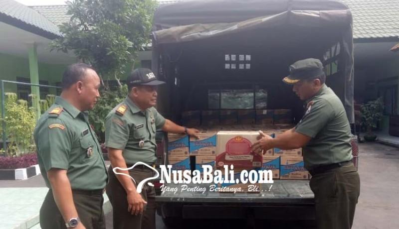 www.nusabali.com-kodim-tabanan-peduli-lombok-kirim-bantuan-sembako