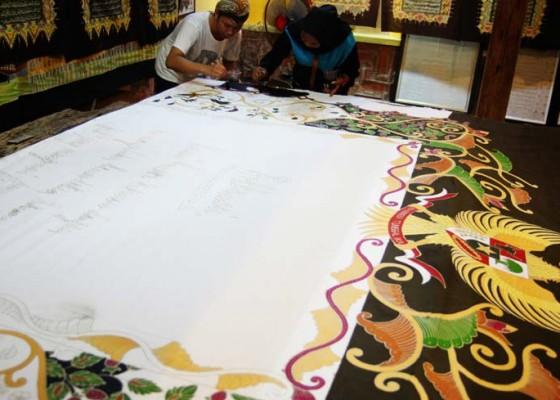 Nusabali.com - batik-teks-proklamasi