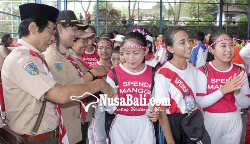 www.nusabali.com-smpn-2-manggis-dan-smpn-3-bebandem-juara-pramuka