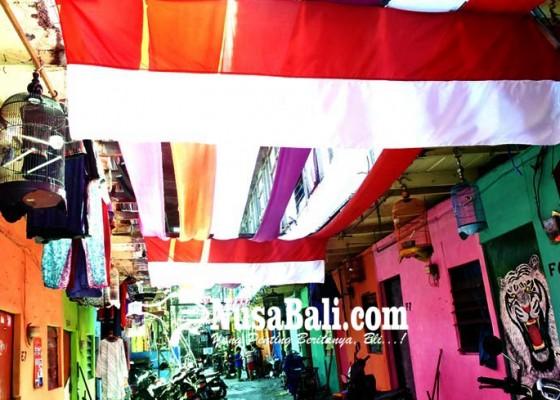Nusabali.com - semarak-hut-kemerdekaan-kampung-kumuh-jadi-warna-warni