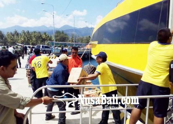 Nusabali.com - bounty-cruise-angkut-bantuan-ke-lombok
