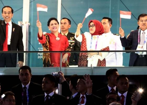 Nusabali.com - presiden-ikut-beraksi-di-pembukaan-asian-games-xviii