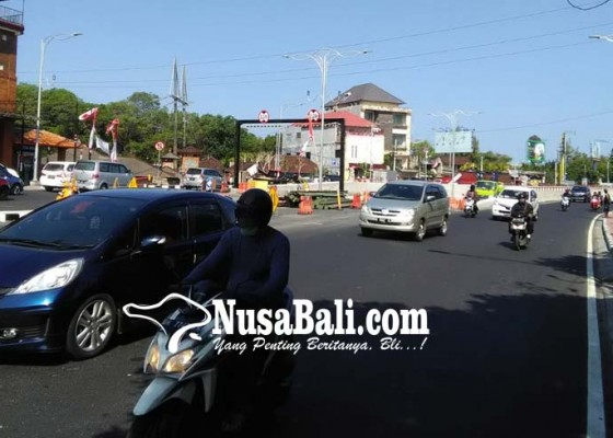 Nusabali.com - underpass-simpang-tugu-ngurah-rai-akan-diuji-coba-awal-september