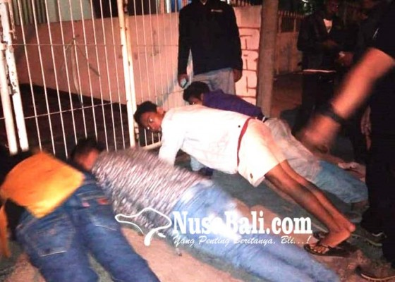 Nusabali.com - berantas-kejahatan-jalanan-markas-abg-dirazia