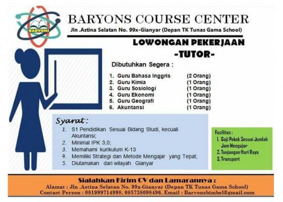 Nusabali.com - lowongan-pekerjaan-tutor