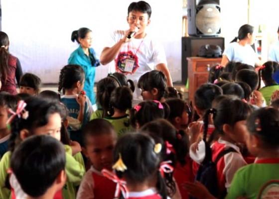 Nusabali.com - sanur-festival-beri-edukasi-gempa-ke-siswa-tk-dan-sd