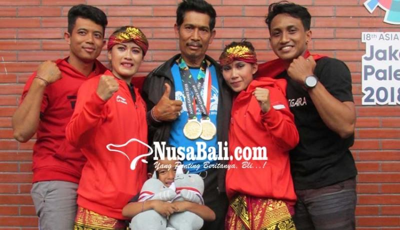 www.nusabali.com-bakti-negara-siapkan-penyambutan-3-pendekar-peraih-emas-asian-games