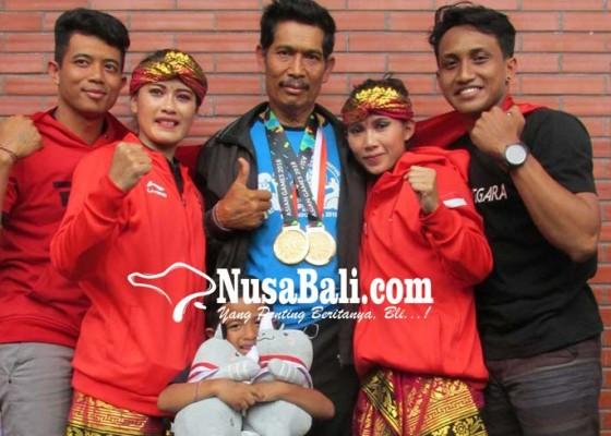 Nusabali.com - bakti-negara-siapkan-penyambutan-3-pendekar-peraih-emas-asian-games