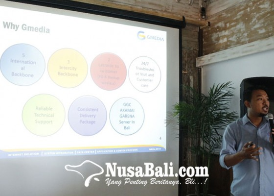 Nusabali.com - gmedia-perkenalkan-akses-fiber-optic-pada-praktisi-it-canggu
