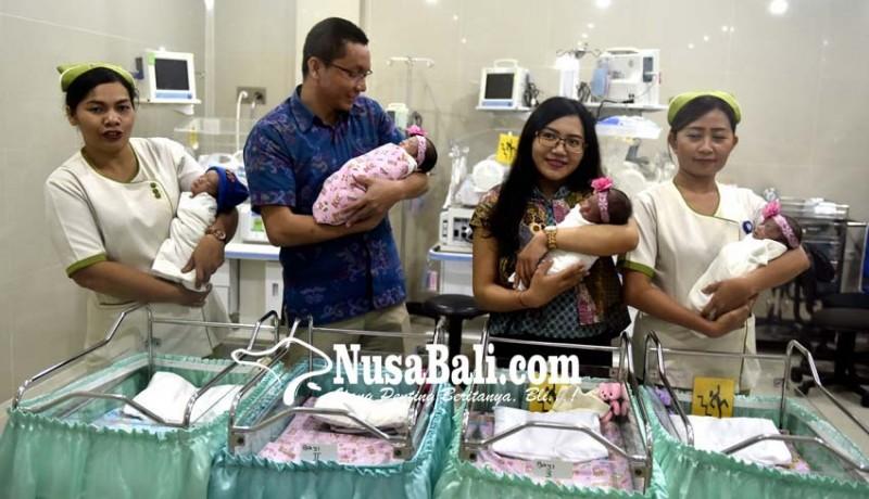 www.nusabali.com-bayi-tabung-kembar-empat-lahir-di-rsia-puri-bunda