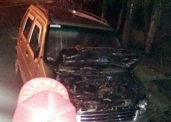 Nusabali.com - pulang-reunian-mobil-asn-terbakar