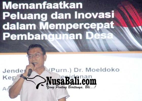 Nusabali.com - moeldoko-jadi-narasumber-seminar-bakti-desa-iv